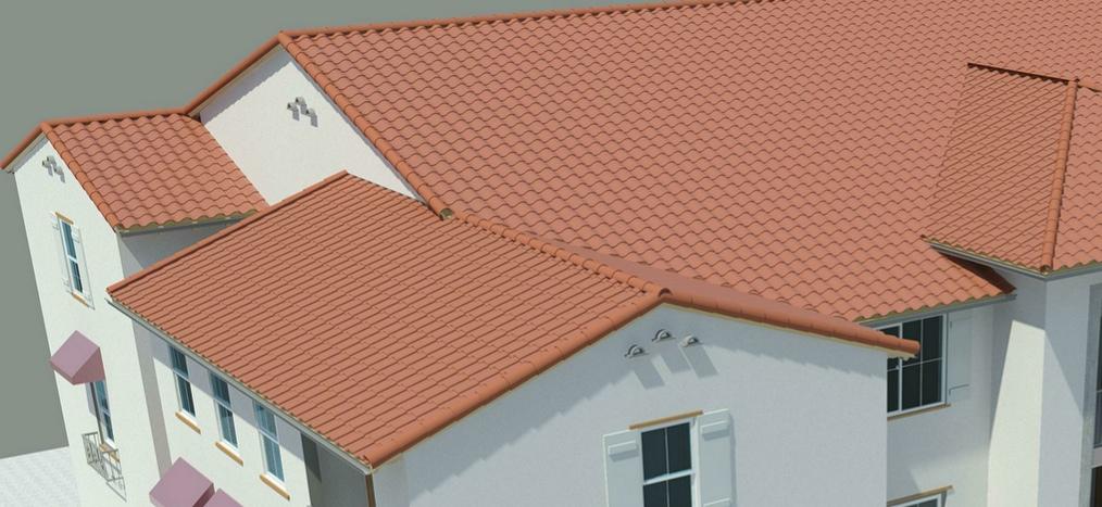3d Roof Tiles In Revit Southern Arizona Revit User Group